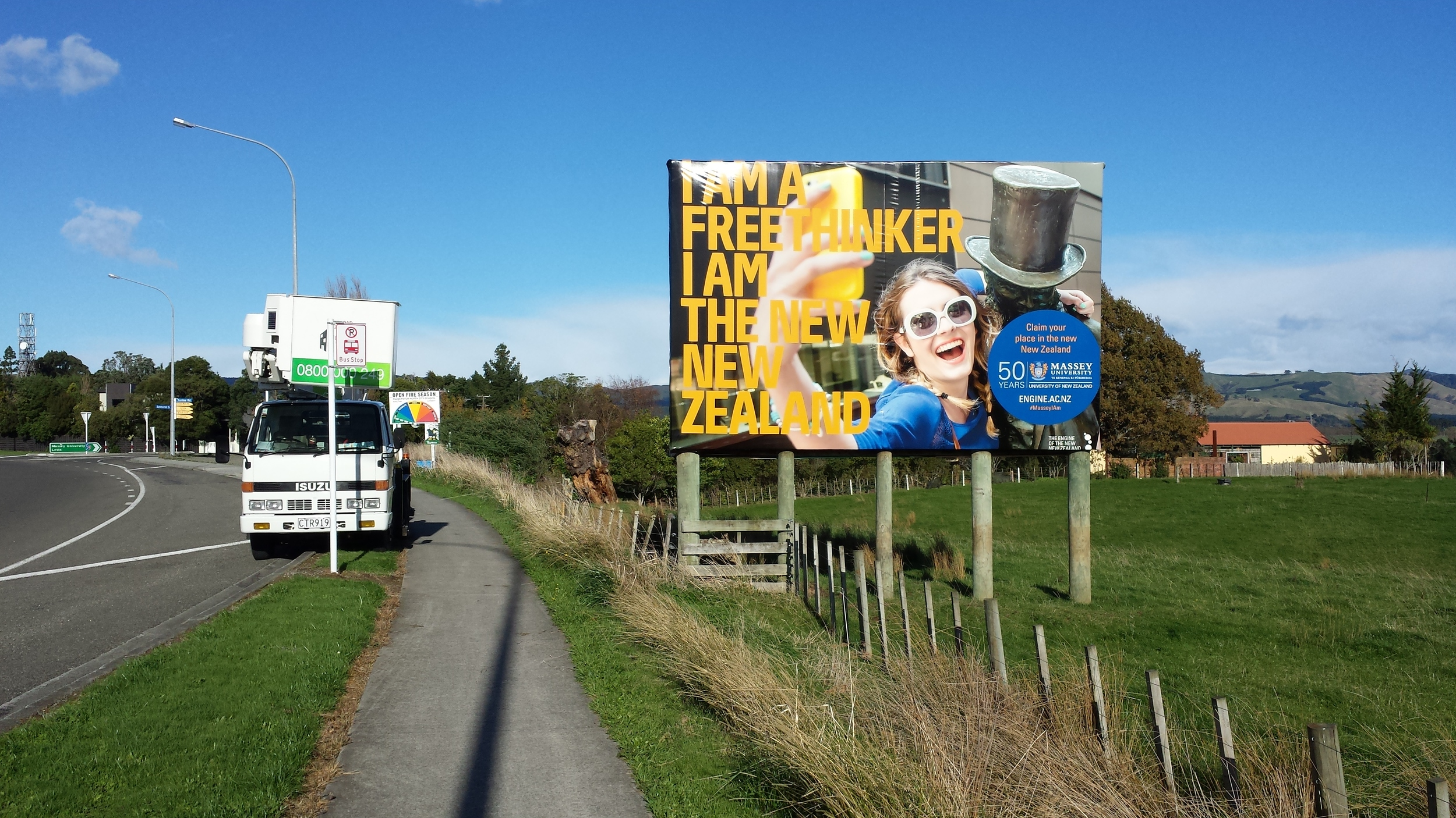 Massey University BillBoard