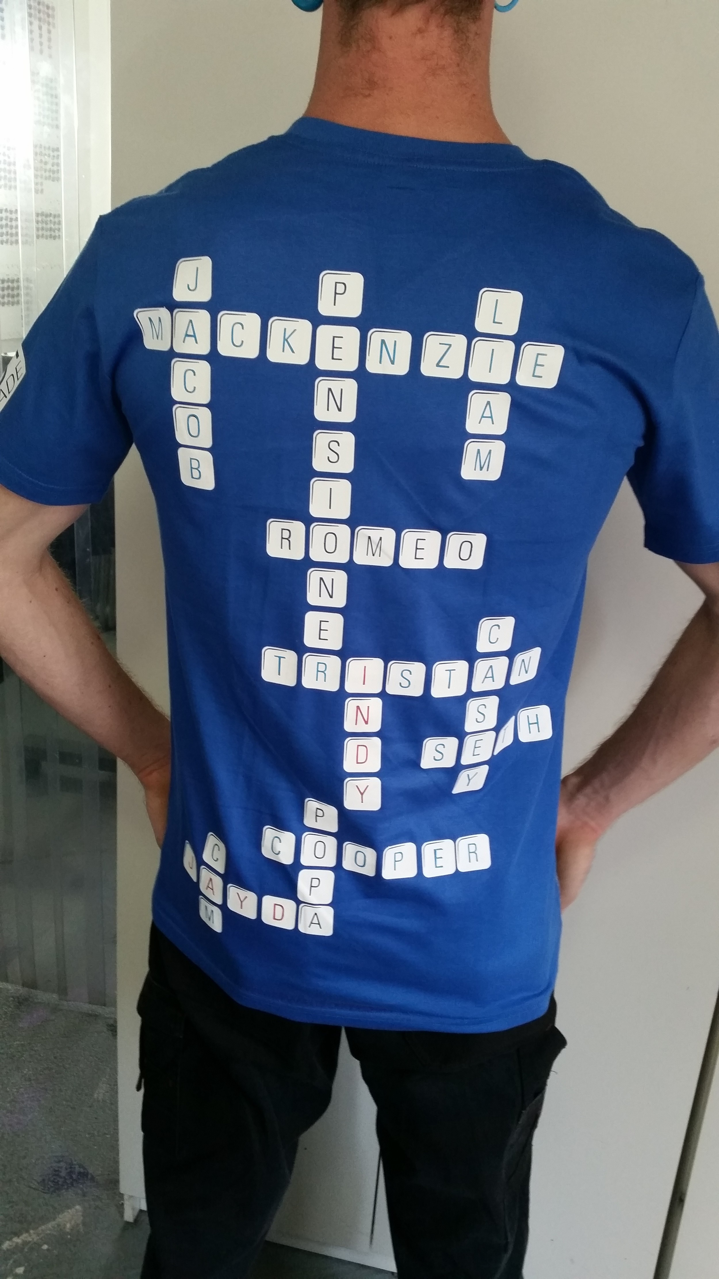 Clever presents, 21st key and gifts, personalised tshirt