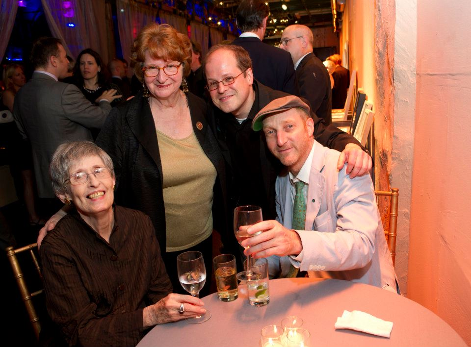 Nina Sundell, Pat Towers, Steven Burke & Jonathan Ames