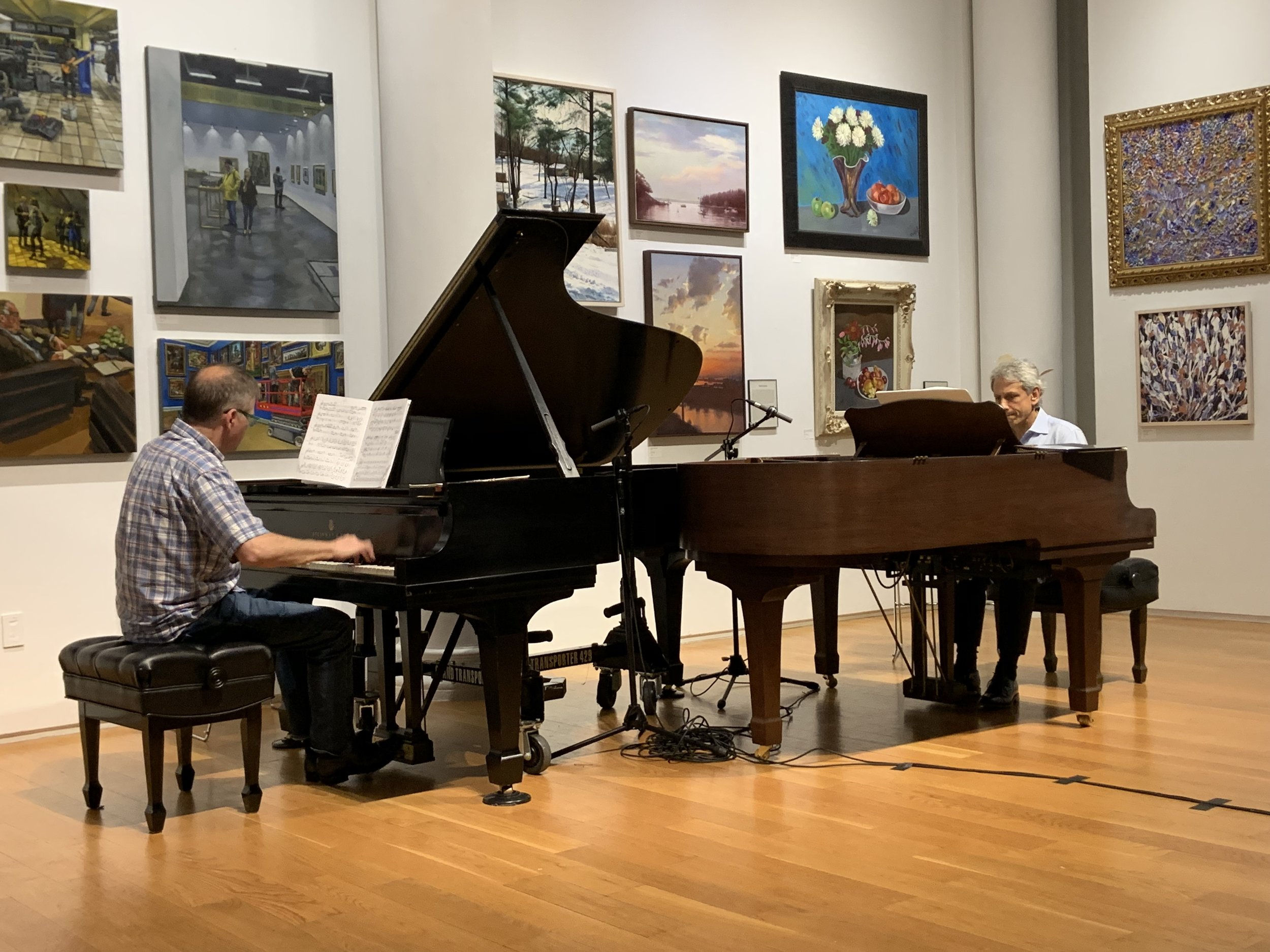 """Rehearsing """"Stillness - a love song"""""""