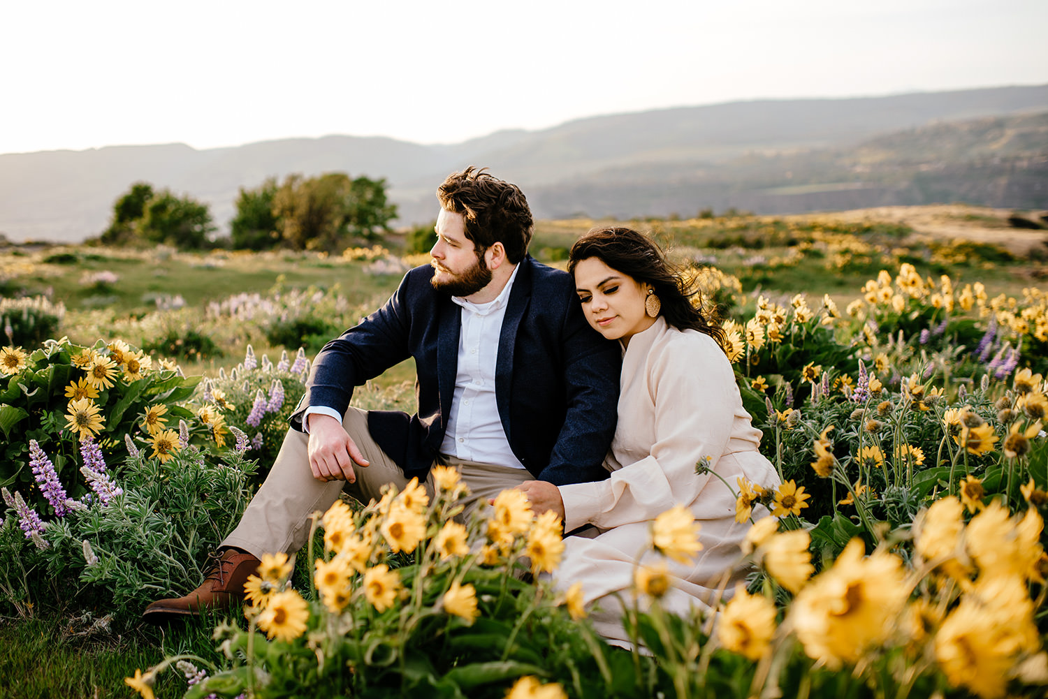 rowena crest engagement session