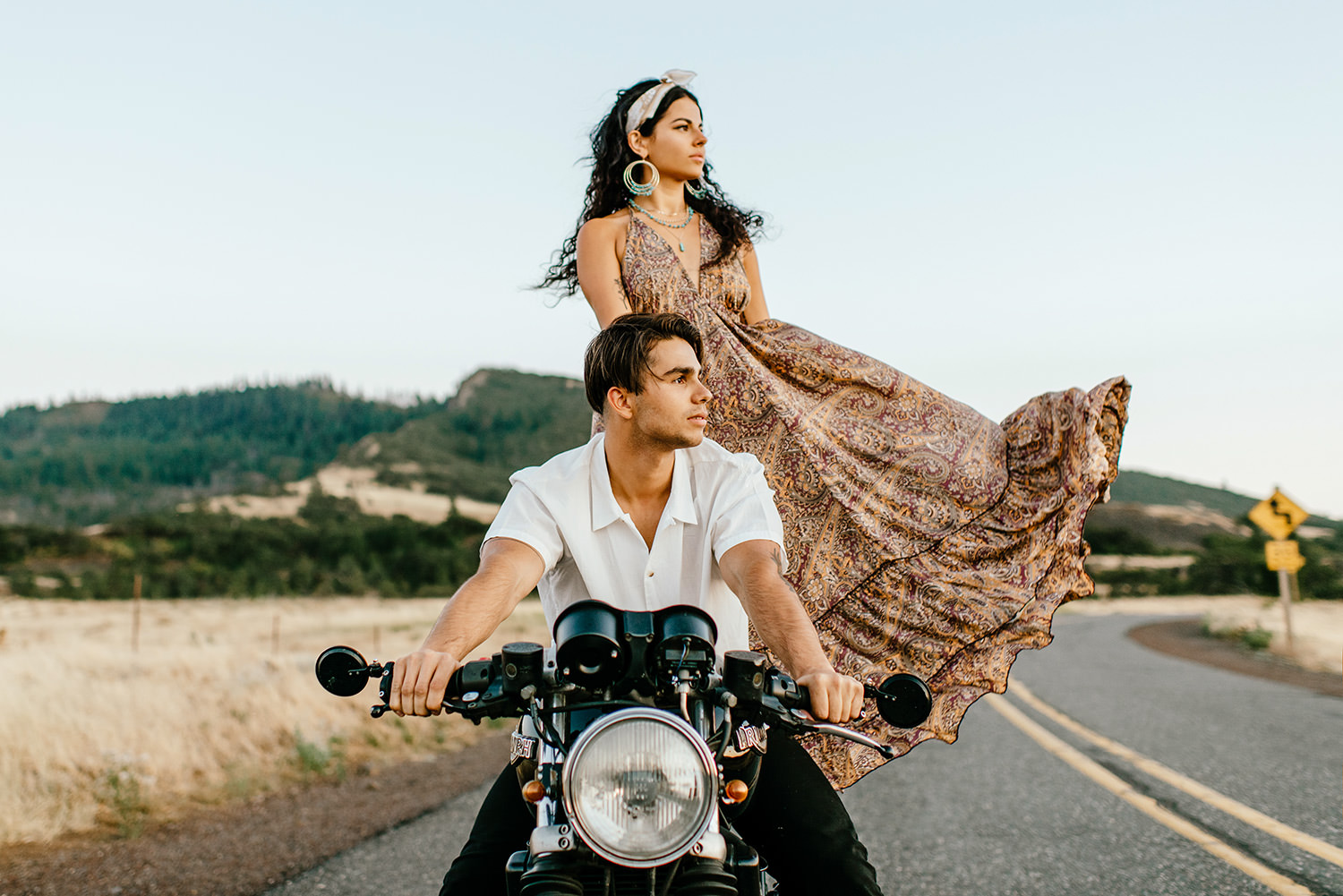 Desert-Motorcycle-engagement-photos