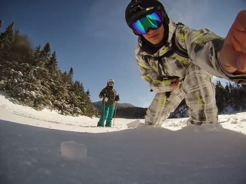 (GoPro-ing on the top of Sterling)