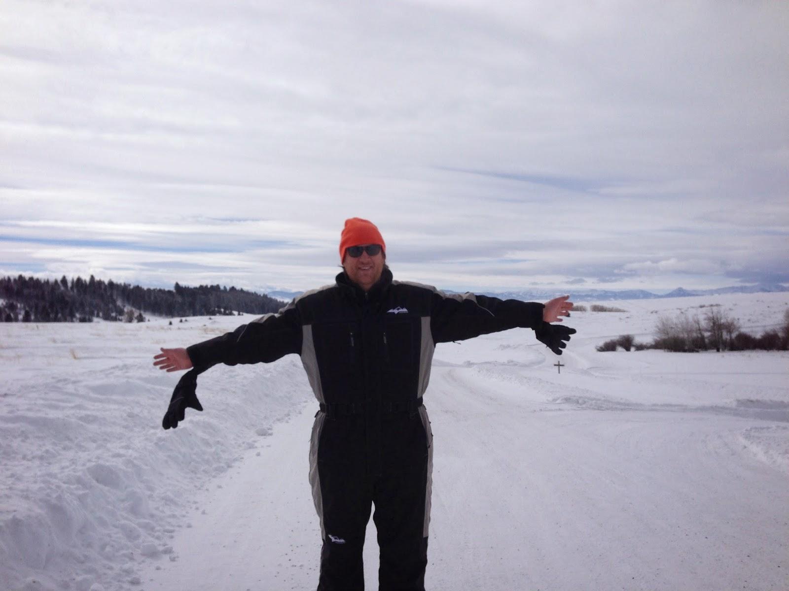 me in my Marlboro onesie - Crazy Mountain Ranch- MT
