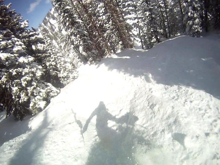 elevated's shadow selfie- Targhee 3/11