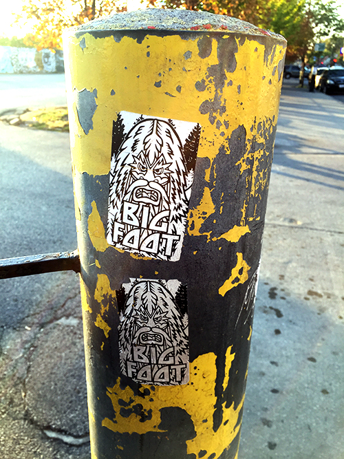 bigfoot things that stick x elevated locals