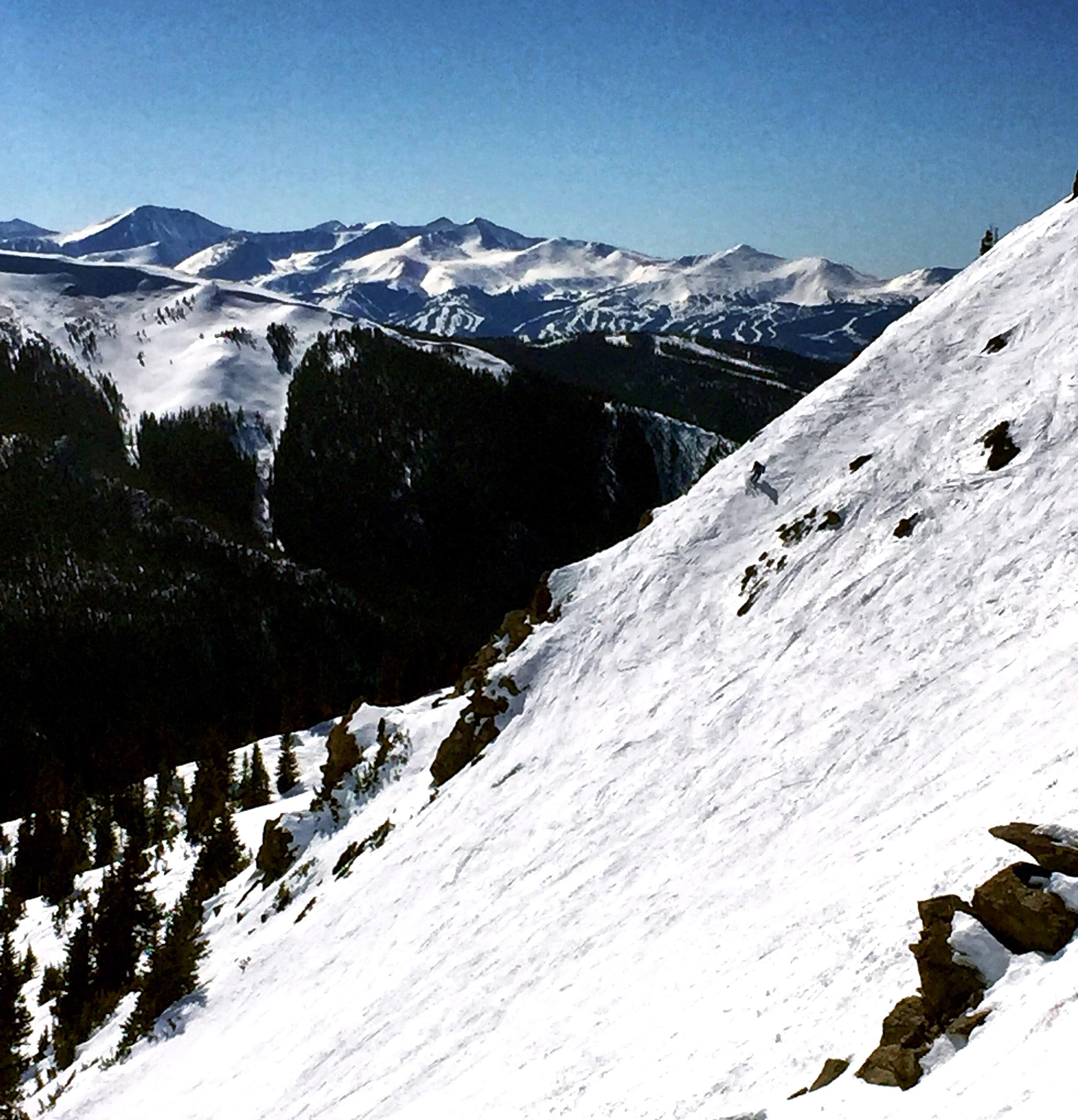 el squat on the End Zone ridge