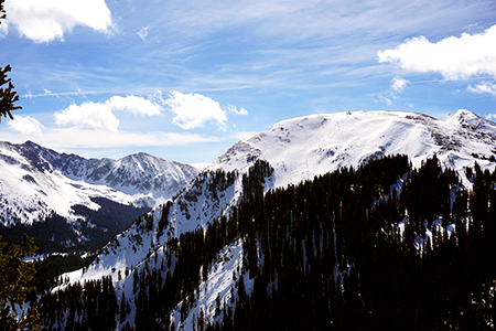 Kachina from the top of Chair 2
