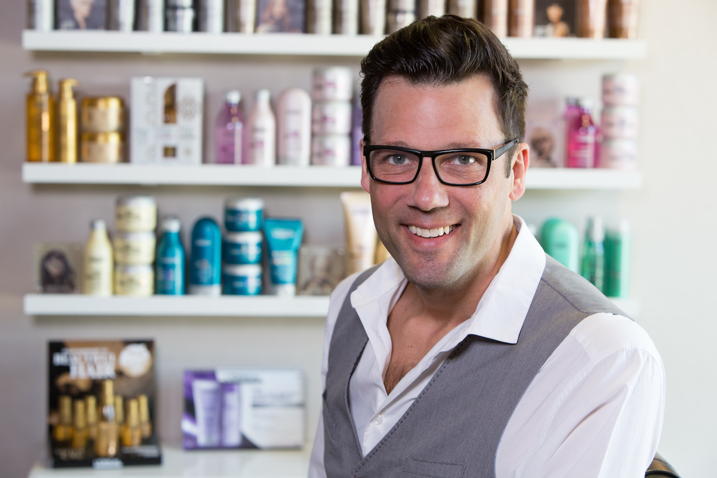 """""""I make sure my clients know what shampoo, conditioner, and style products I use through the steps of their hairstyle.""""  - Jody Dierksheide"""