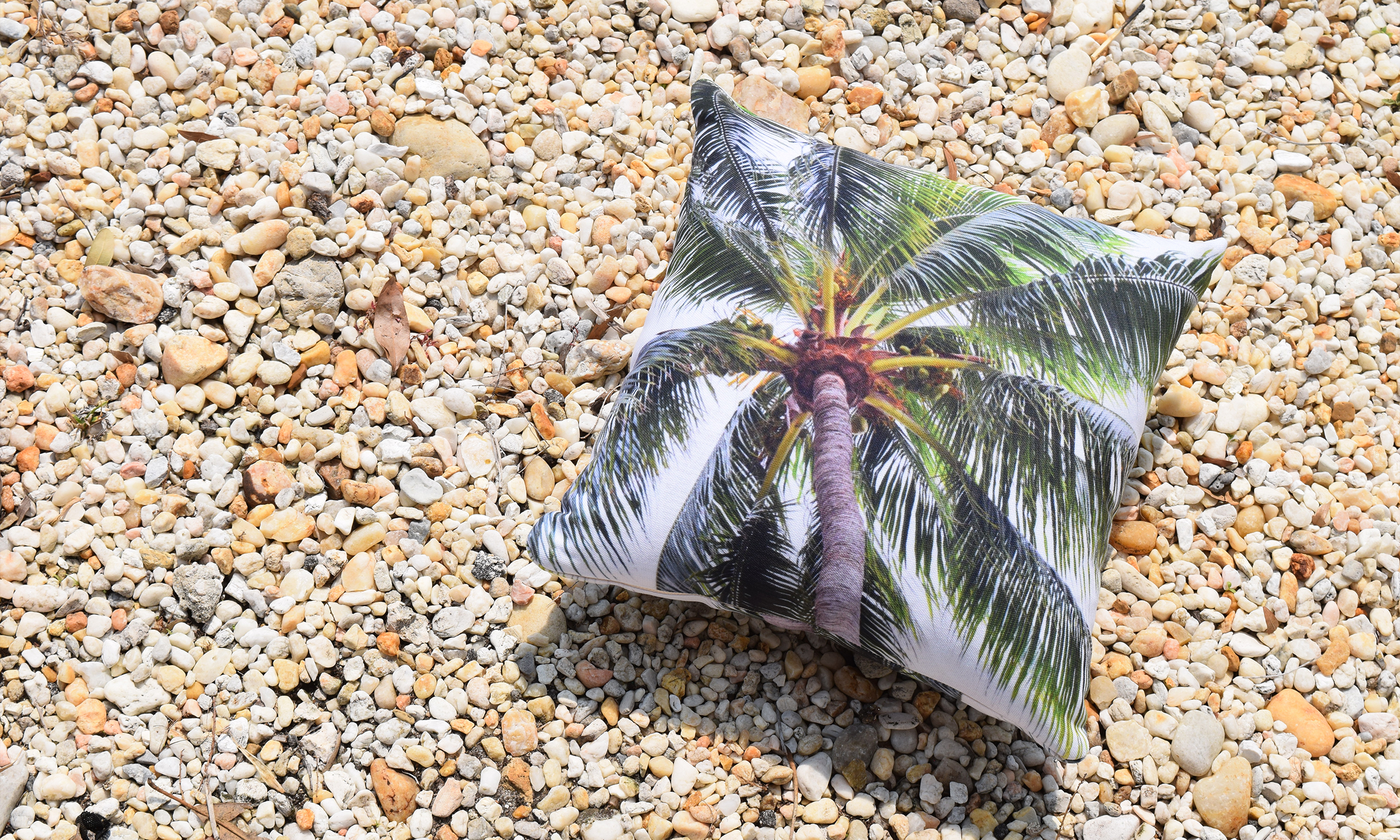 Caribbean Palm - Throw Pillow - Nature | City Co.