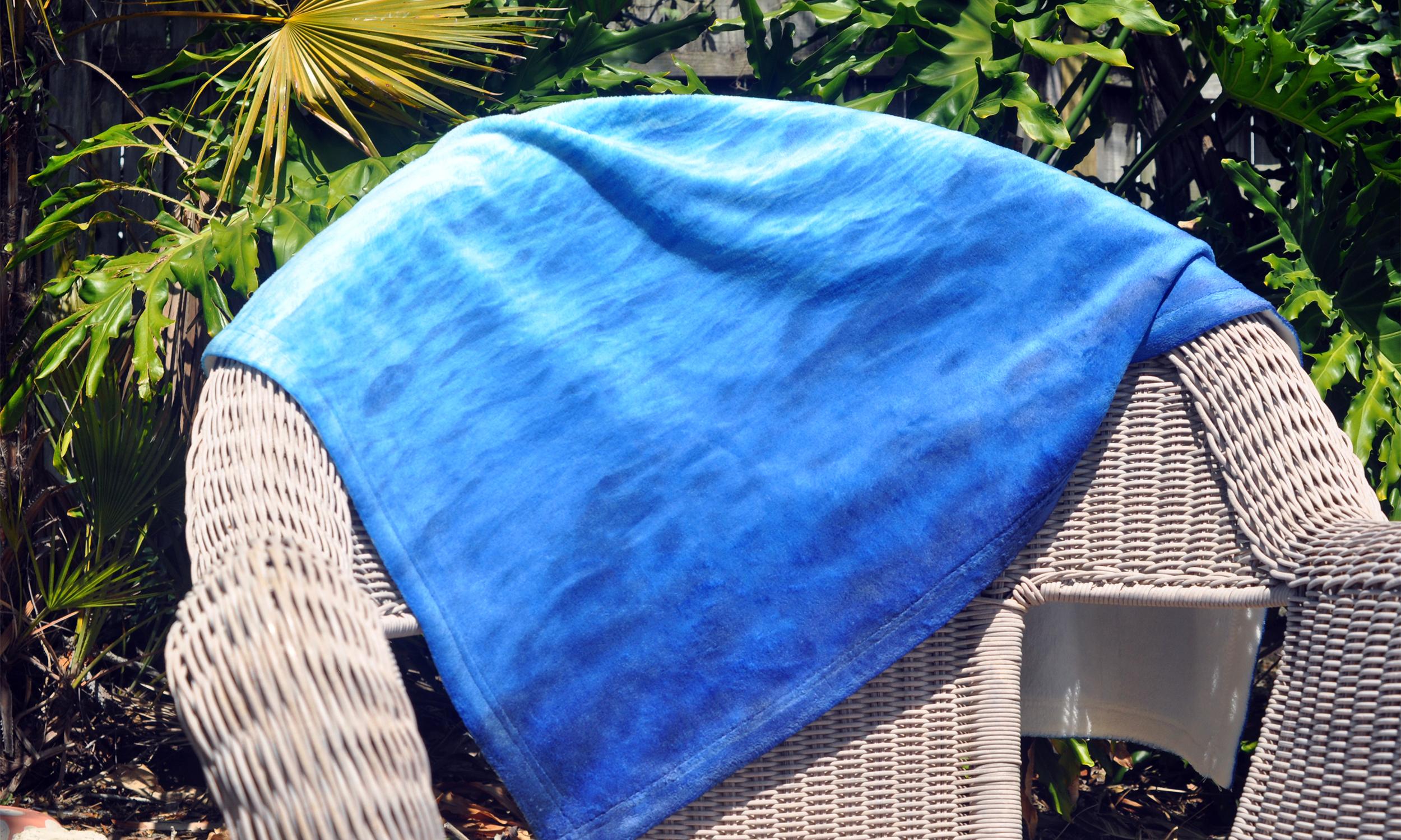 Caribbean Waters - Fleece Blanket