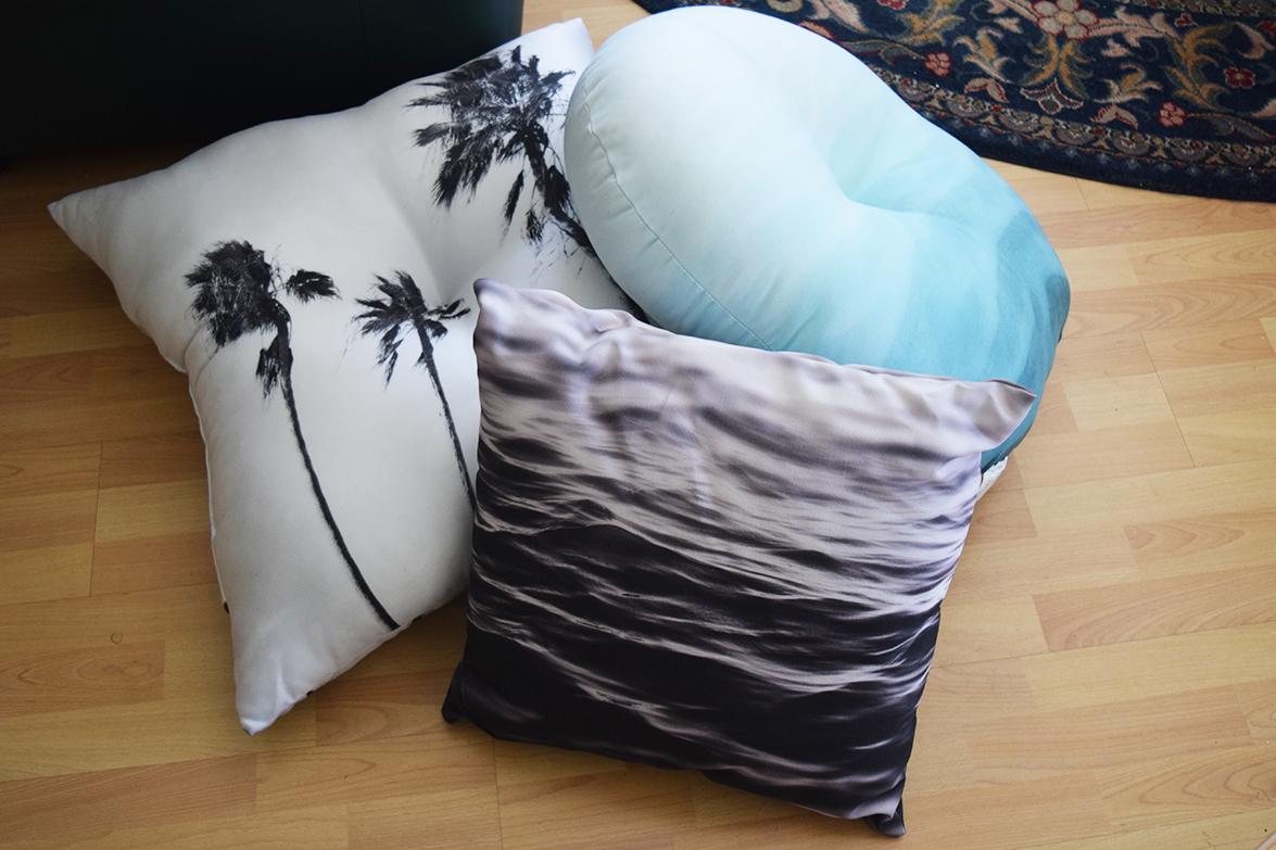 Three Floor Pillows