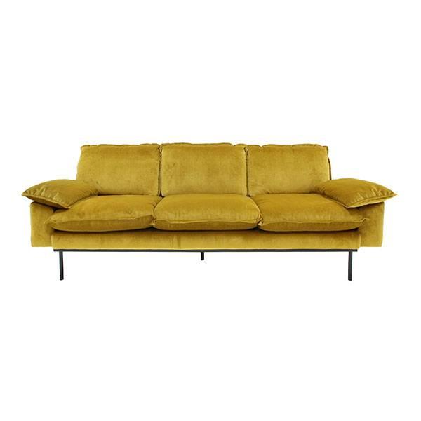 hk-living bank trendy ocher 3-seater yellow velvet couch2.jpg