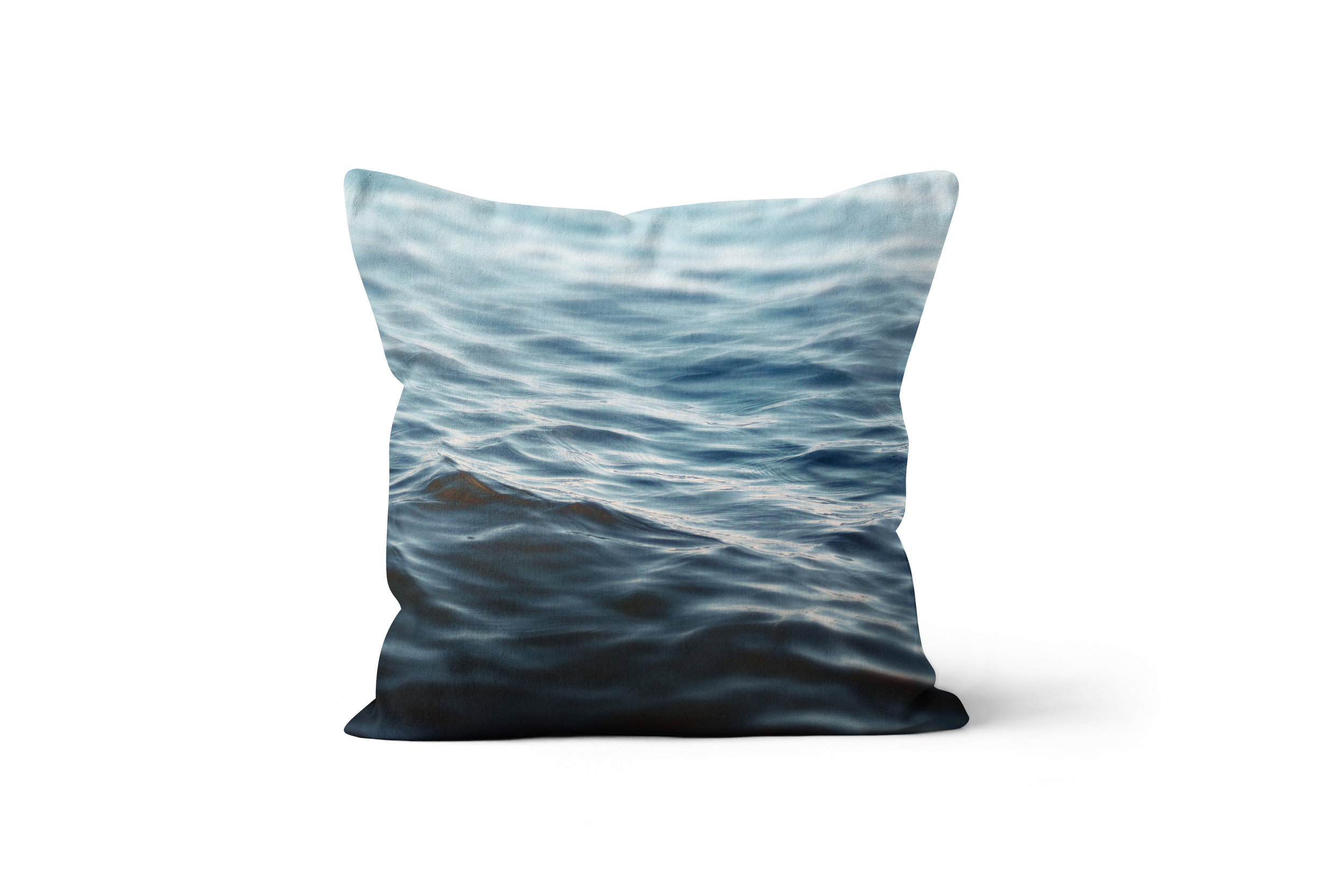 Dark Waters 2 Throw Pillow Beach Surf Decor By Nature City Co