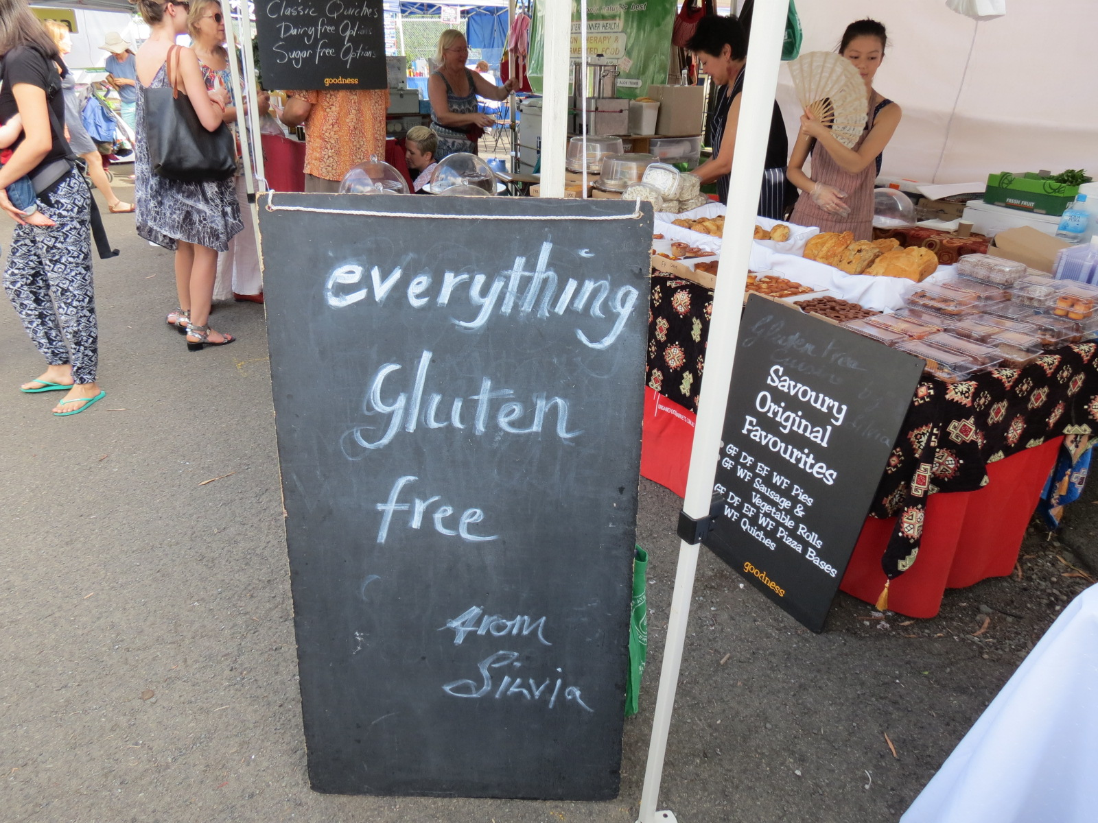 Sugar free, dairy free, gluten free... anything free, to cater for your needs.