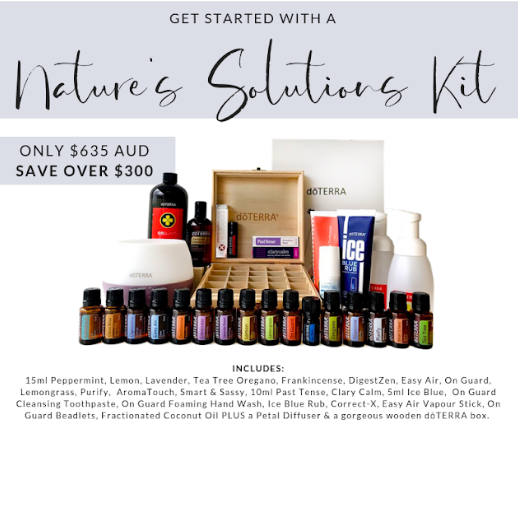 Nature's Solution Kit - Naturopathy with Olivia