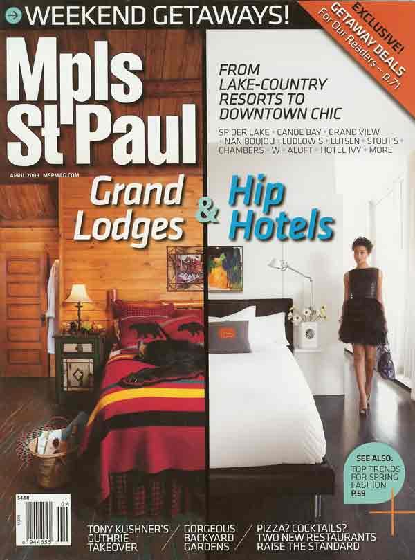 Mpls St. Paul Magazine- April 2009