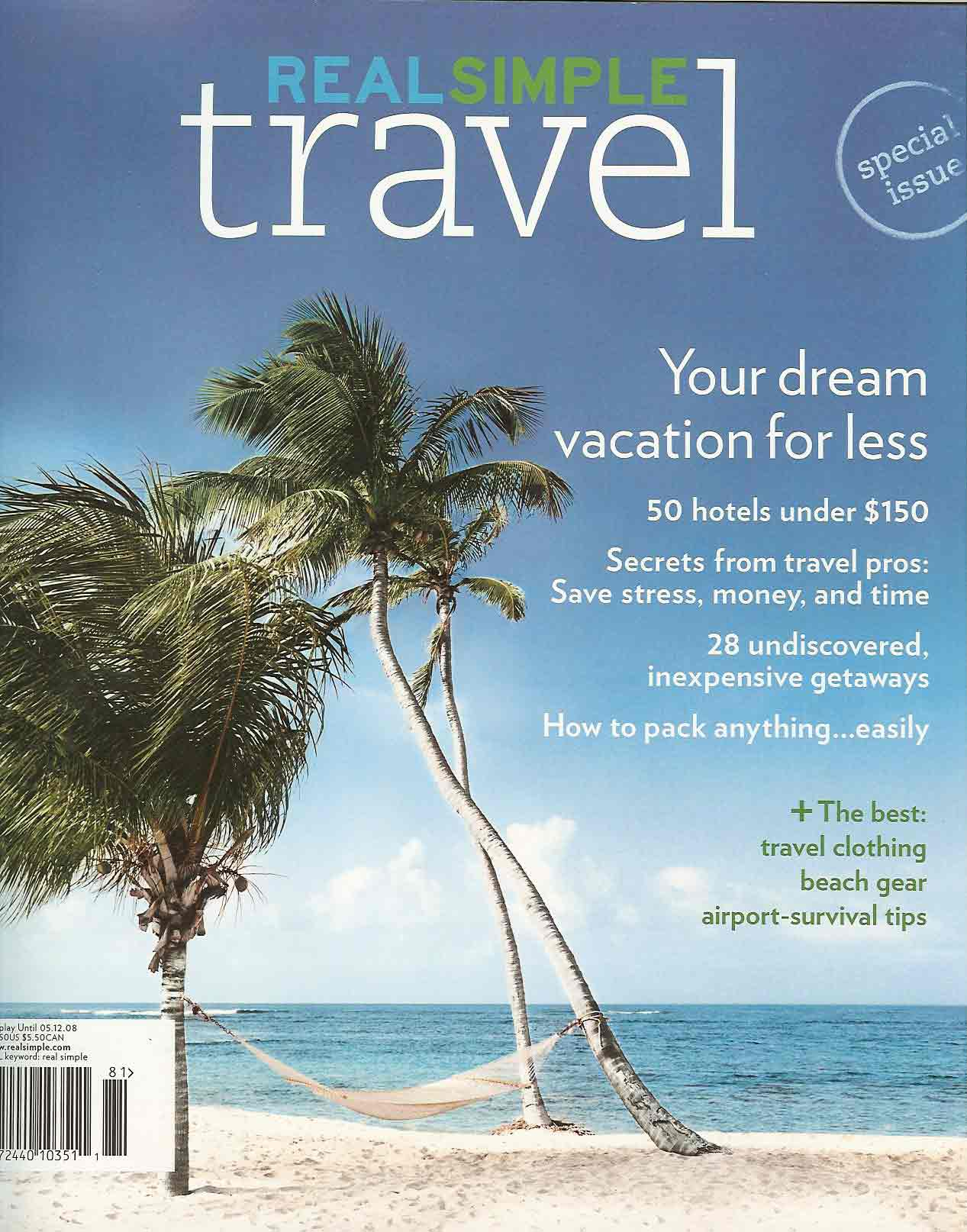 Real Simple Travel- May 2008