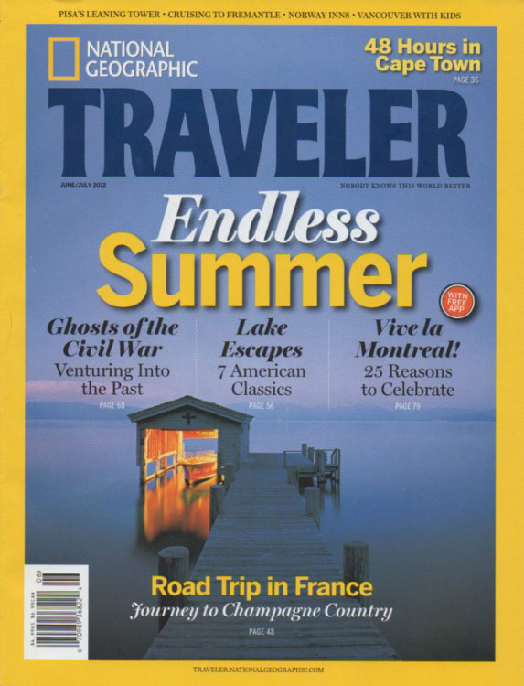 National Geographic Traveler- June 2012