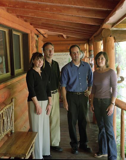 Lonnie, Lou, Jacques & Nicole LaMontagne