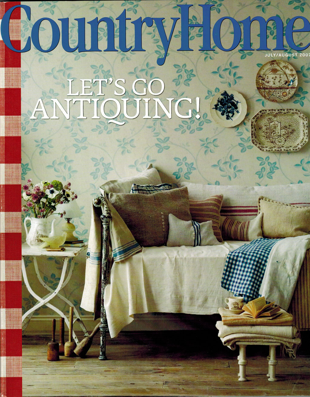 Country Home Magazine- July 2007