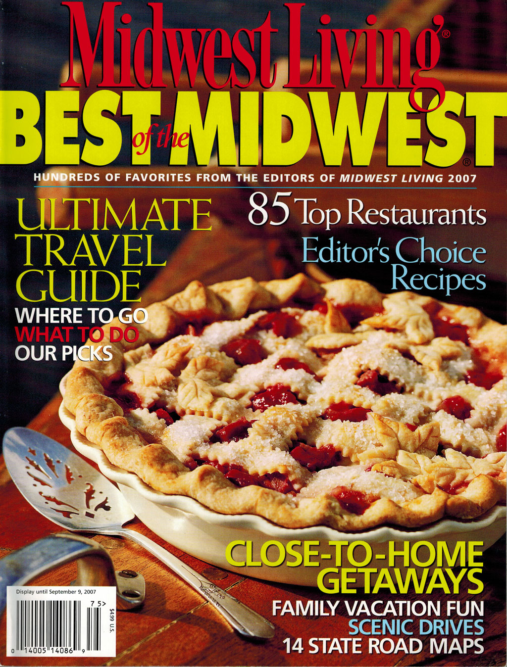 Midwest Living: Best of the Midwest- 2007