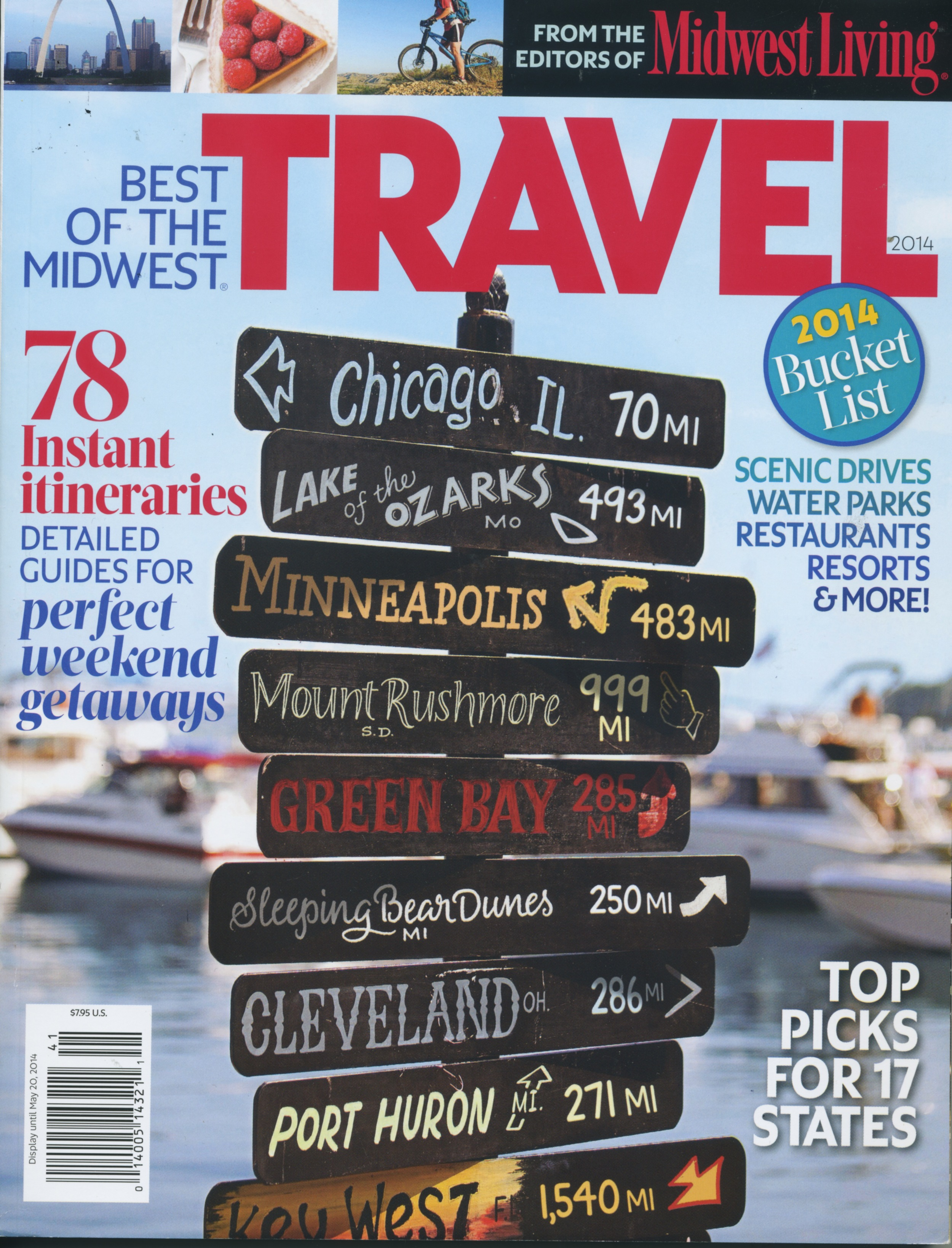 Best of the Midwest Travel- May 2014