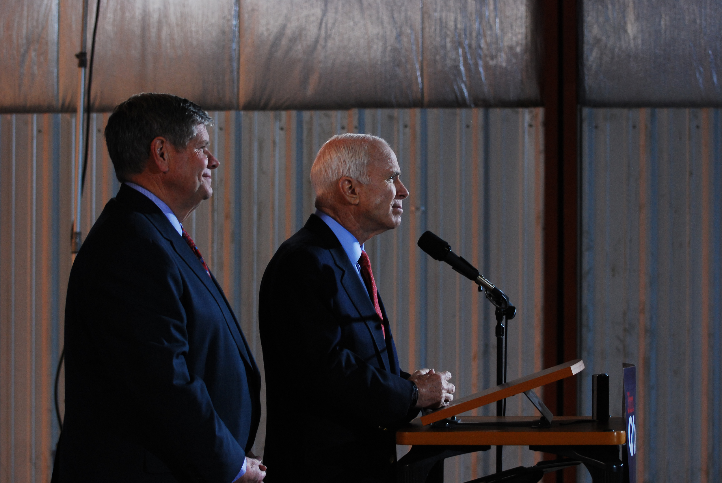 Jim Oberweis, John Mccain. 2008.