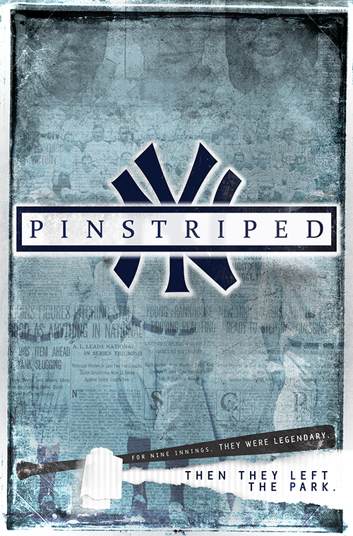 PINSTRIPED - PILOT | HISTORY • DRAMALOGLINE: The story of Babe Ruth, Lou Gehrig, and the best team in baseball history (1927 Yankees), told from the perspectives of a retired Negro League ballplayer turned sports reporter, a heartbroken rookie from a small Texas town, and a fiery Chicago socialite.