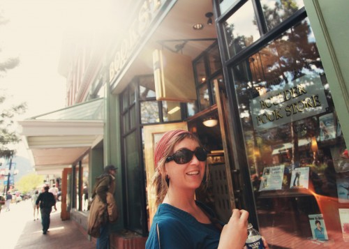 Boulder Bookstore Beauty
