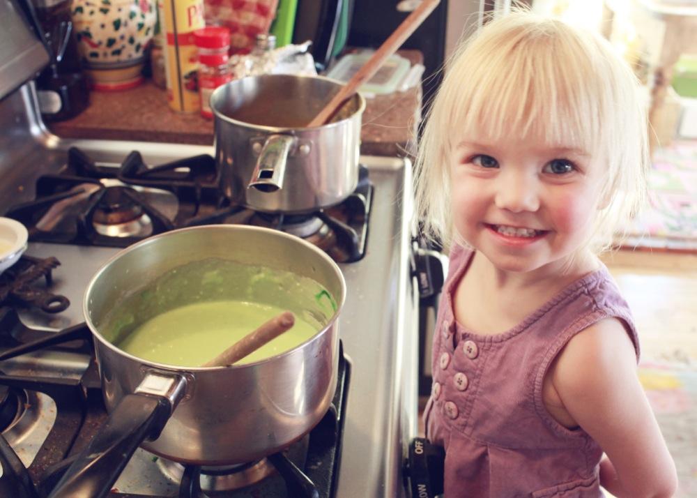 Green Playdough