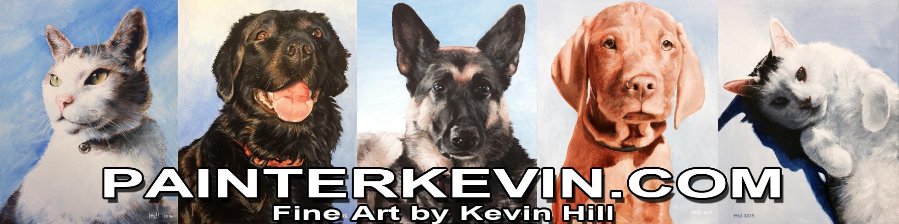 PainterKevin.com March Banner