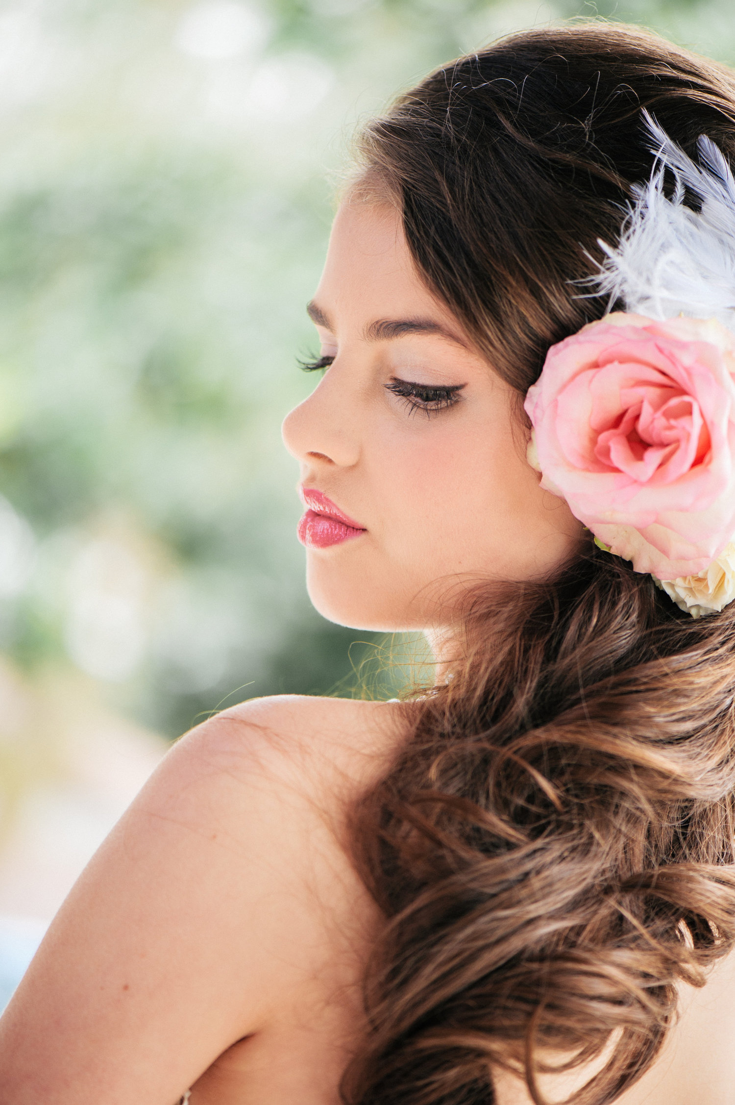 French Styled Shoot Makeup and Hair artistry by Beyond Beautiful by Heather, Savannah, GA. Model: Evie. Image by: Alison Epps Photography, Savannah, GA.