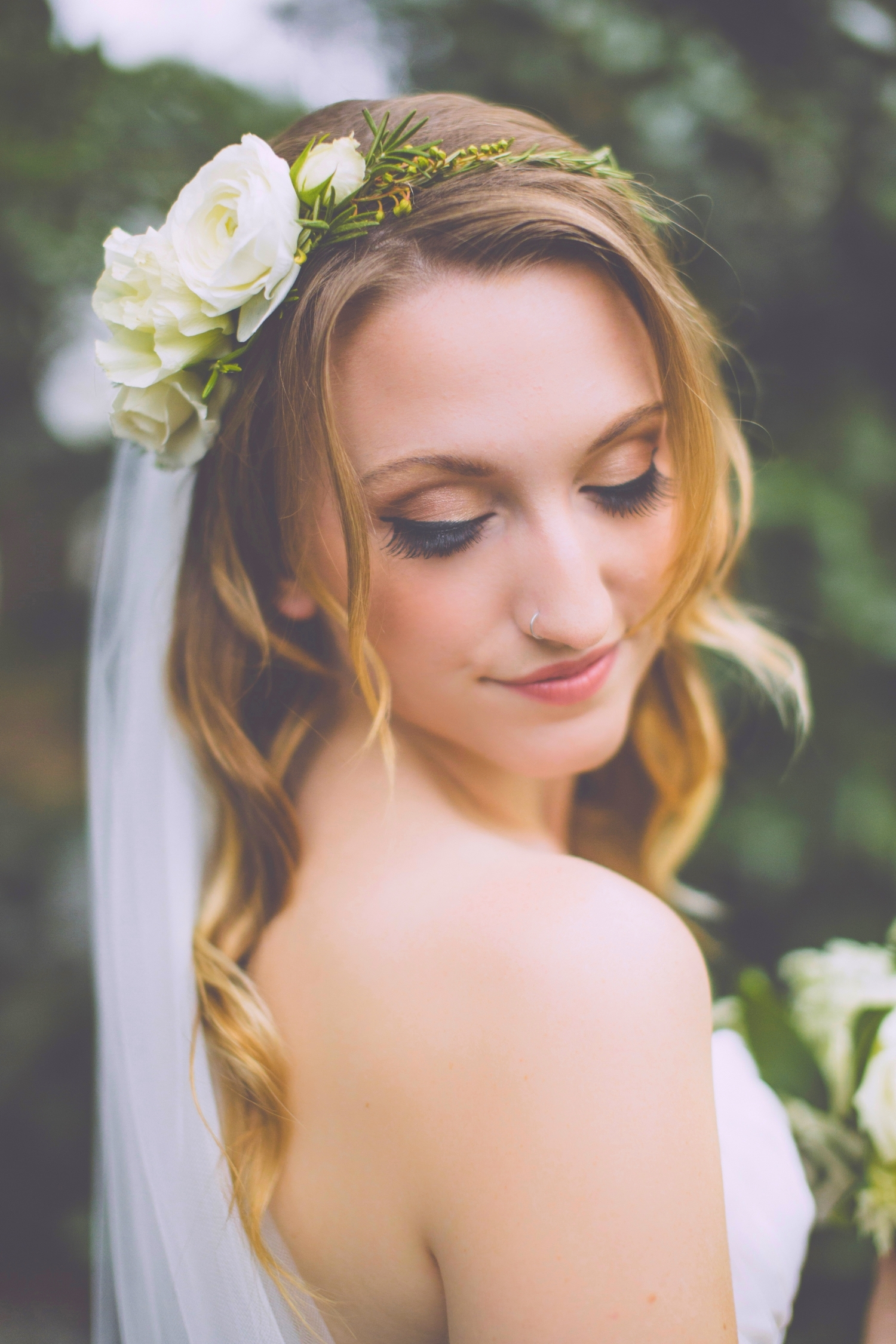 Bridal Airbrush Makeup and Hair Artistry by Beyond Beautiful by Heather, Savannah, GA.