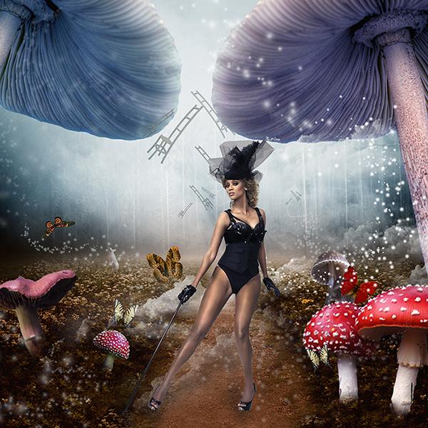 """Tyra in Wonderland""   (link to work)."