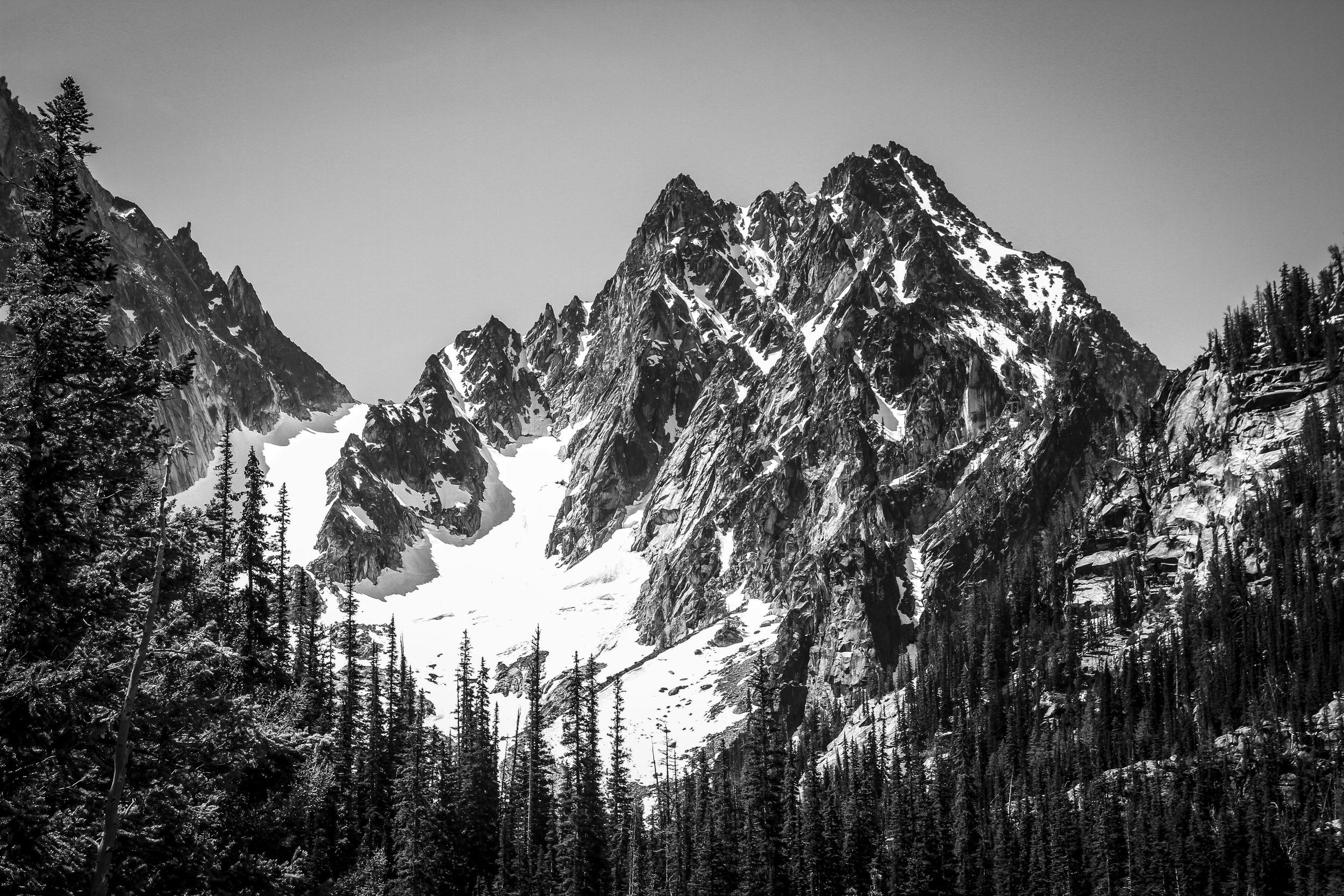 Colchuck Peak, Central Cascades