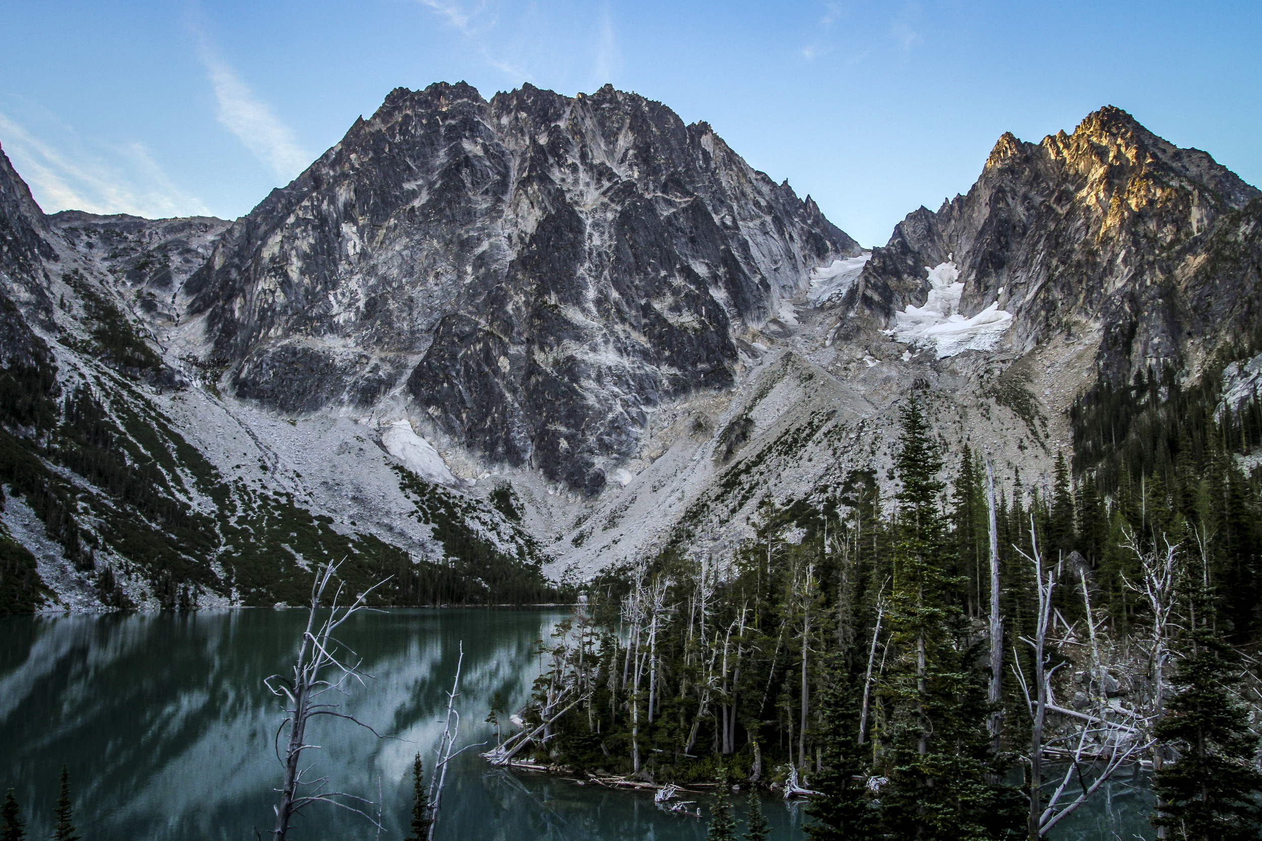 Alex and I did our second 18 mile hike of the summer through the Enchantments. 5am start, 6000ft vertical gain, and an 8 mile hitchhike back to the car.