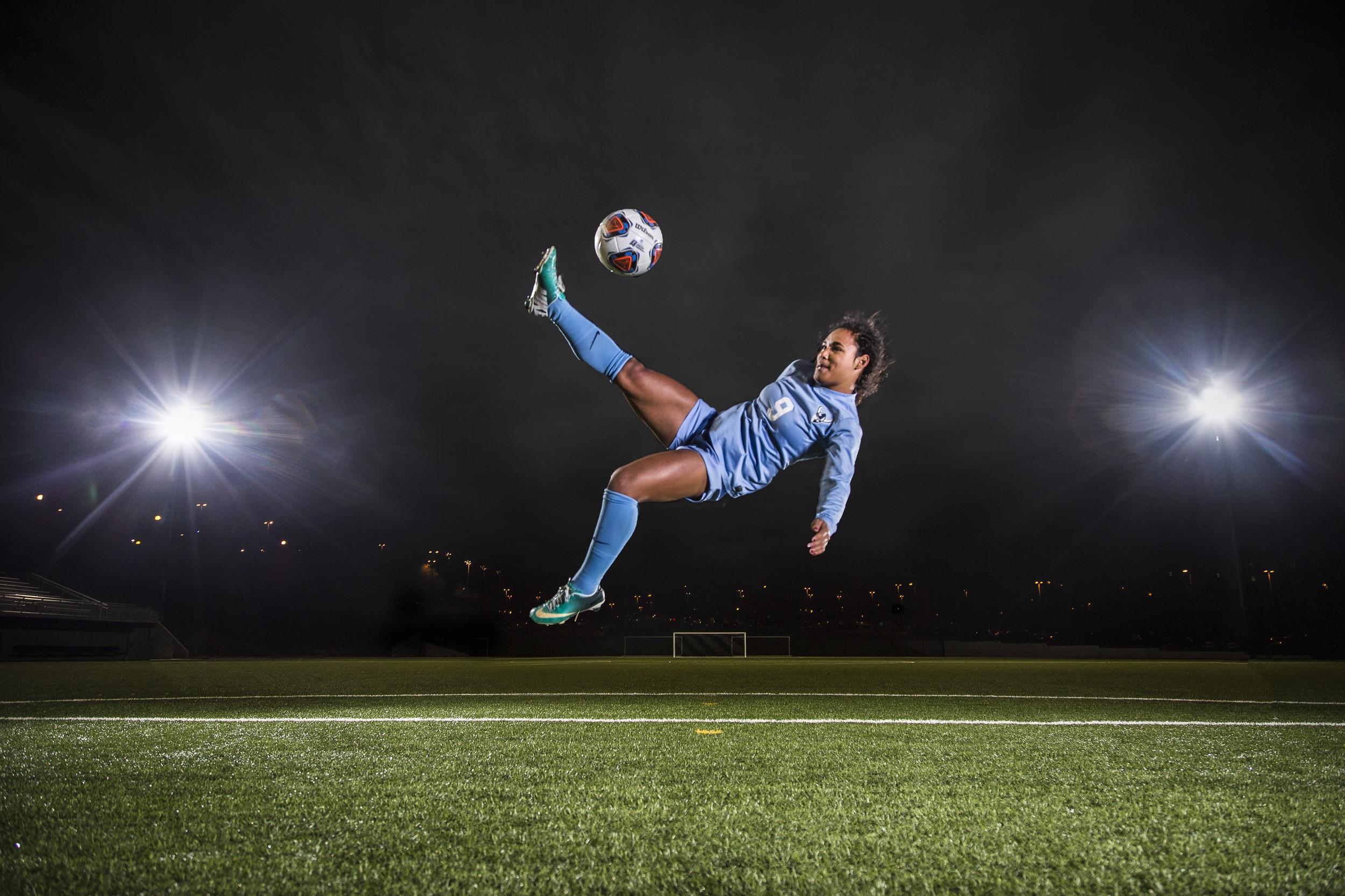 Gabriela Pelogi was one of the lead scorers during the 2015 Western Washington University women's soccer season.