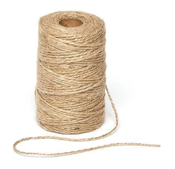 Jute twine - You can use any undyed, natural string for tying shibori folded fabric. I like jute twine.