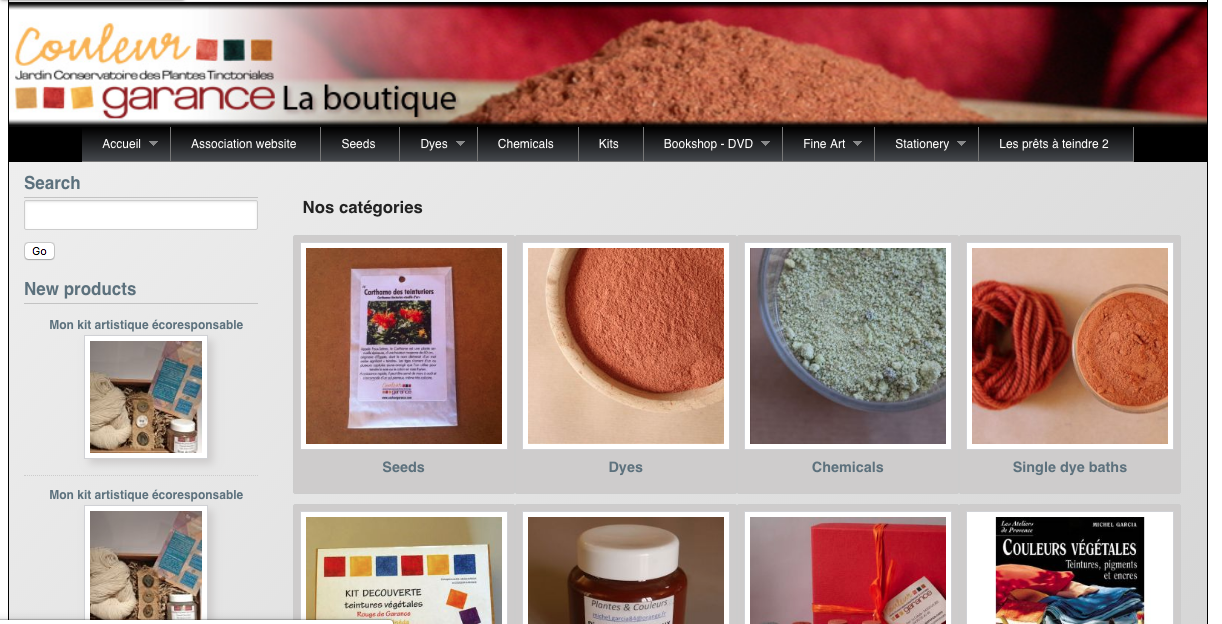 Couleur Garance - A one stop shop for natural dye supplies