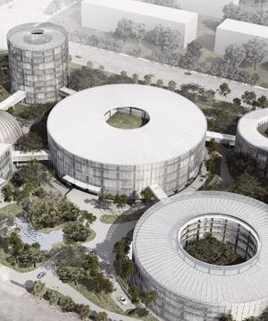 China Life tech campus