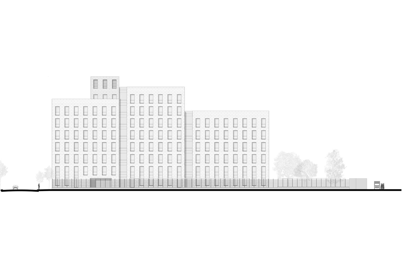 Façade Sud-Ouest © Silvio d'Ascia Architecture