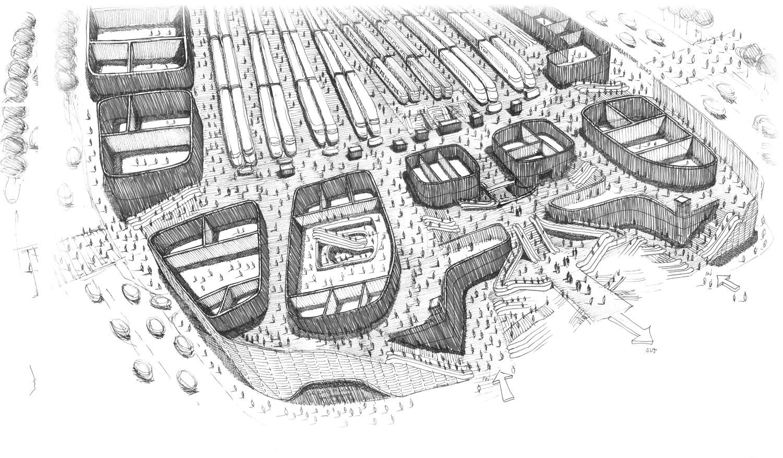 Silvio d'Ascia Architecture - Montparnasse station