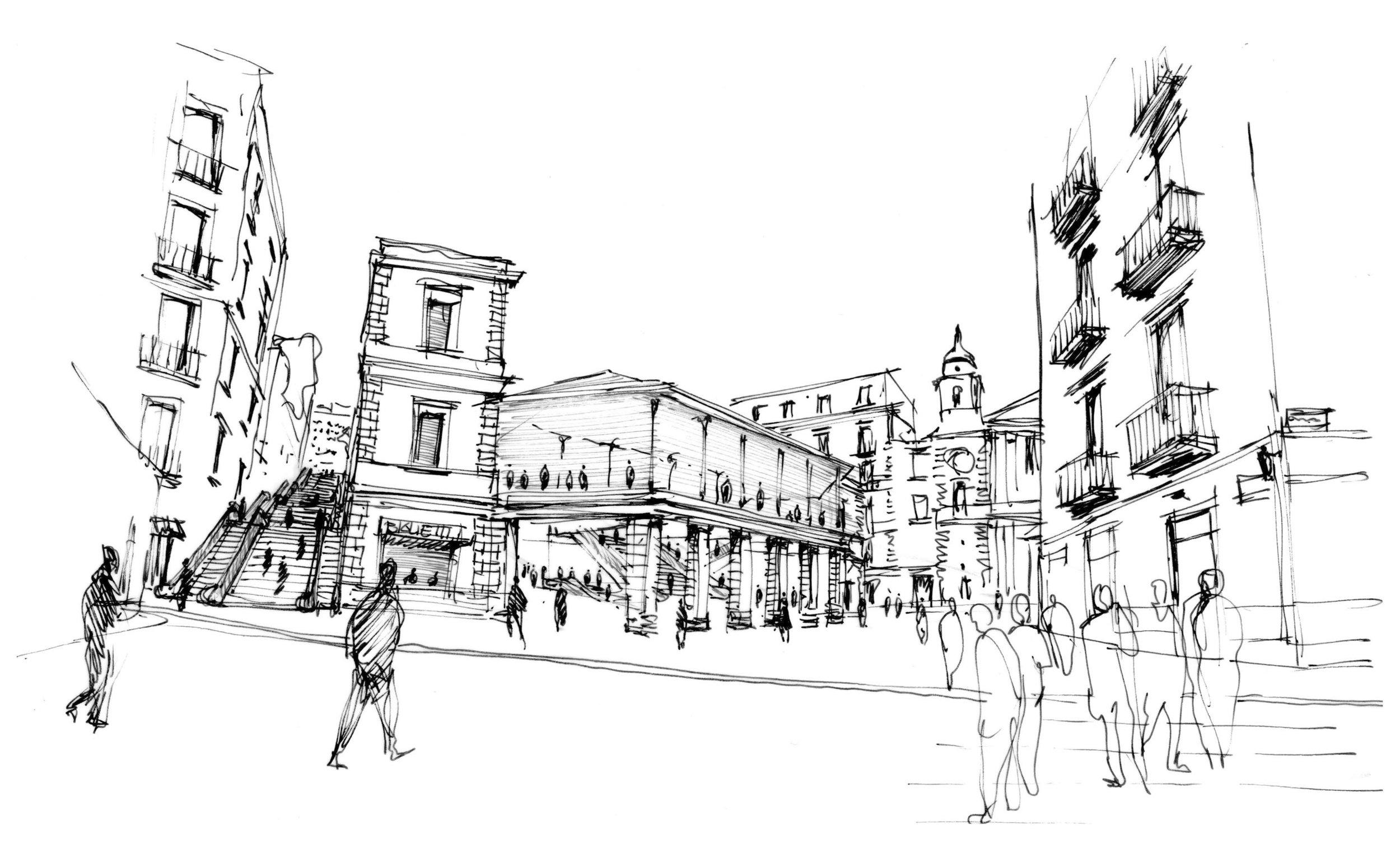Silvio d'Ascia Architecture - Montesanto Station