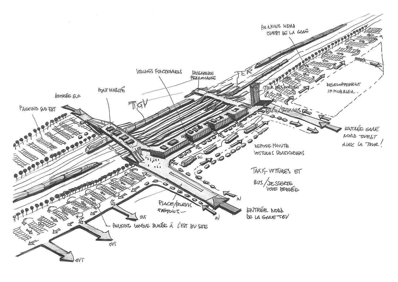 Silvio d'Ascia Architecture - Kenitra TGV Station