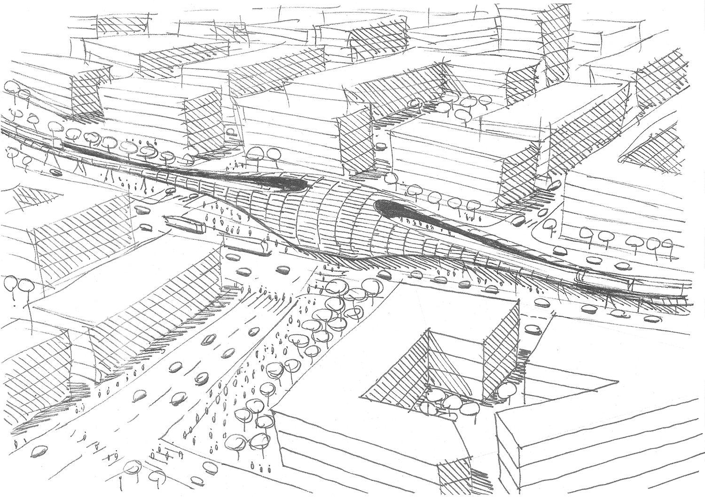 Silvio d'Ascia Architecture - 3 stations Ligne 18 GPE
