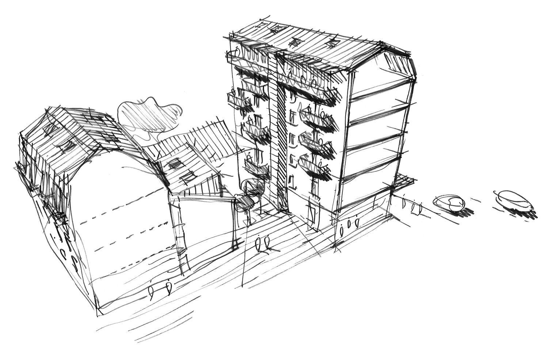 Silvio d'Ascia Architecture - Rue Lecourbe