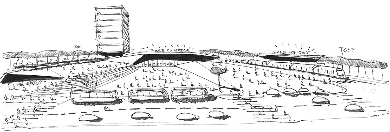 Silvio d'Ascia Architecture - Pont de Rungis