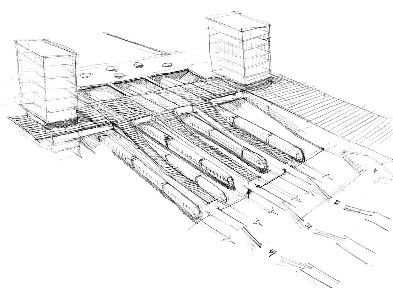 Silvio d'Ascia Architecture - Nanterre RER