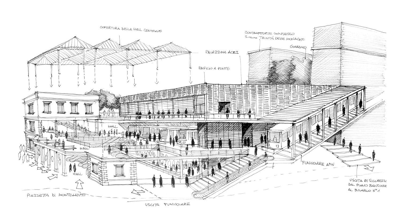 Silvio d'Ascia Architecture - Montesanto